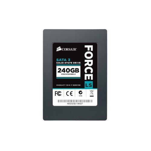 Corsair Memory LS CSSD-F240GBLS interne SSD 240GB (6,4 cm (2,5 Zoll), SATA III) schwarz
