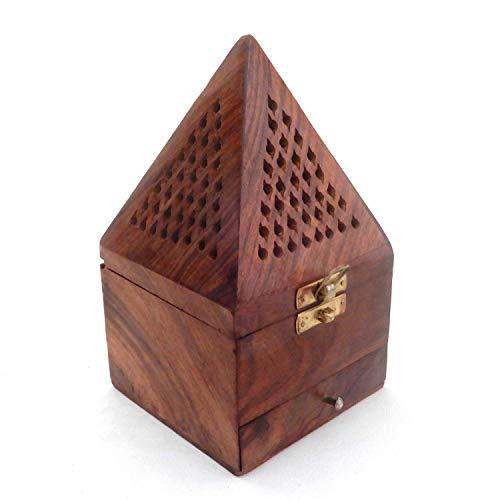 G&D Quemador Estilo pirámide clásico Madera, Soporte