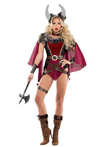 Starline, LLC. Women's Voluptuous Viking Fancy Dress Costume Large