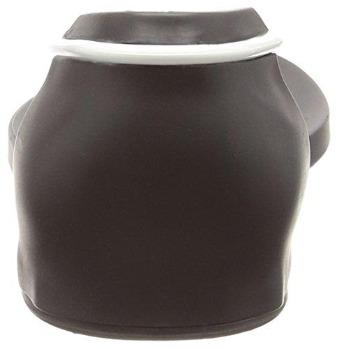 Ipanema Philippe Starck Thing N Fem, Tongs femme Noir - Schwarz (black/white 8031)