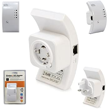 AKORD 300 Mbps Wireless-N 802.11 Wi-Fi Repeater Range Extender Router Booster