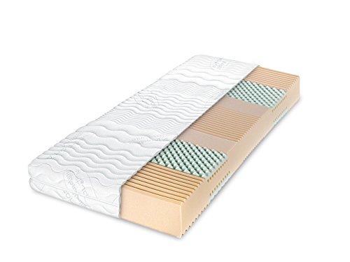 Dunlopillo Matratze - Multi Care | 7-Zonen-Kaltschaummatratze | 90x200 cm | Höhe: 16 cm