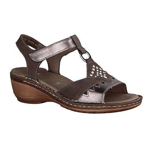 dames ara sandales Key West 12-37276-05 combinatoires gris Gris