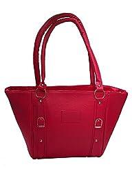 Vintage Stylish Ladies Handbag Pink (bag 54)