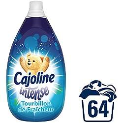 Cajoline Intense Adoucissant Concentré Parfumé Tourbillon de Fraîcheur 64 Lavages