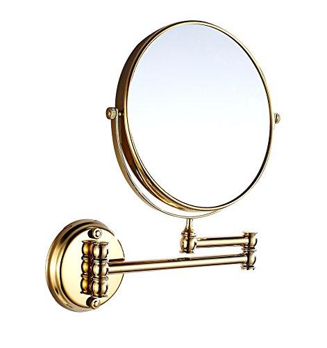 Eridanus Espejo de Maquillaje de Aumento de Pared, Espejo Cosmético 1X y 3X Ampliación de Doble Cara...
