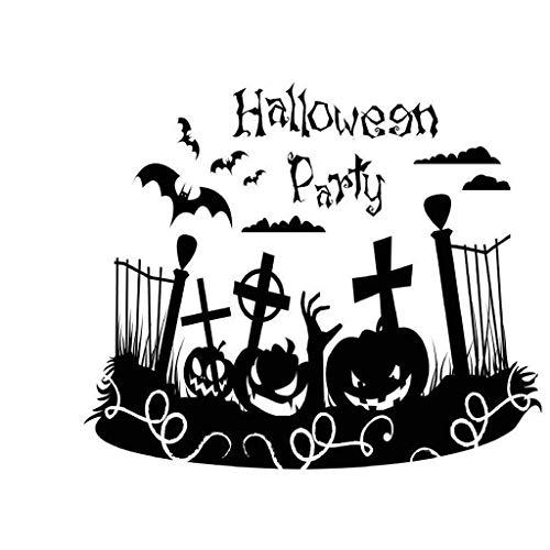 Halloween Zaun Dekorationen - TianranRT❤Wandaufkleber, Halloween Party Zaun Urlaub