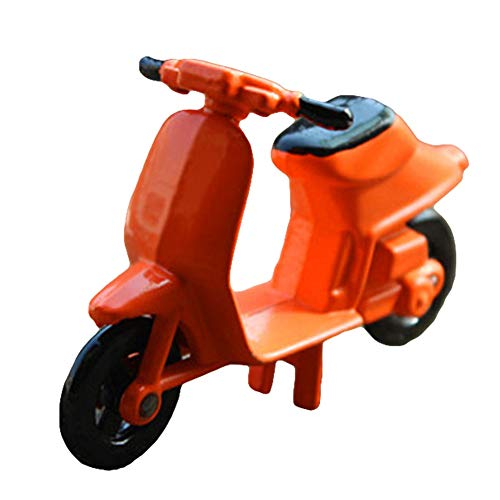 rycnet Miniatur-Motorrad-Modell im Maßstab 1/12, Legierung, Orange (Mini-gas-chopper 49cc)