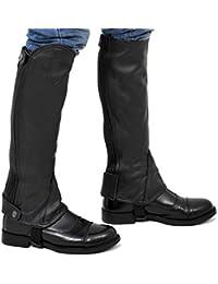 Riders Trend Full Grain Leather Gaiter - , color negro, talla XX-Large