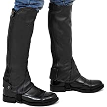 Riders Trend Full Grain Leather Gaiter - , color negro, talla XX-Large