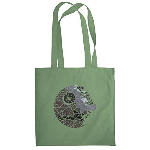 Texlab–Poligono Star–sacchetto di stoffa Oliva