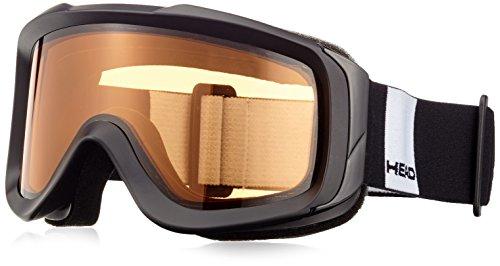 HEAD 373605_Black_One Size - Maschera da sci Uomo, Taglia unica, colore: Nero nero