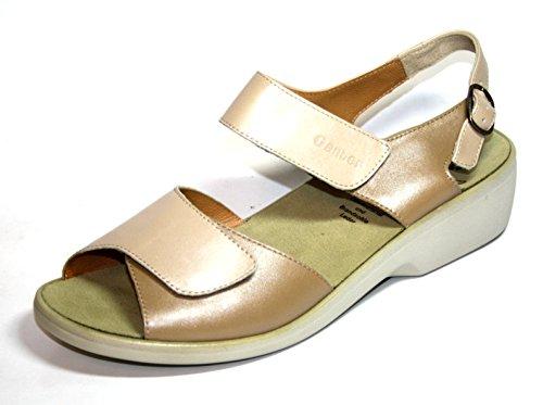 Ganter Hanna 1-203130 Damen Schuhe Sandalen, Weite H Beige (sand/creme)