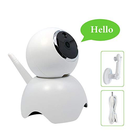 Drahtlose Kamera 1080P, Innenüberwachungskamera Littlelf WiFi IP mit Nachtsichtfunktion/Zwei-Wege-Audio/Bewegungserkennungstopf/Überwachungskamera für Haustiere/Senioren/Babyphone