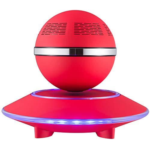 BUY-TO Floating Drahtlose Lautsprecher Tragbarer Bluetooth-Player Geburtstagsgeschenk,red