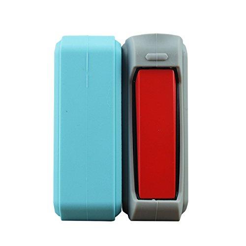 Silikon hülle, etui für SMOK G-PRIV - beste Qualität - authentische VampCase (Schwarz/Blau)