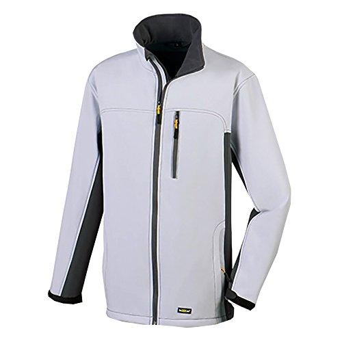 Herren Wasserdichte Weiße Jacke (teXXor Softshelljacke Skagen atmungsaktive Microfleece Arbeits, S, weiß, 4144)