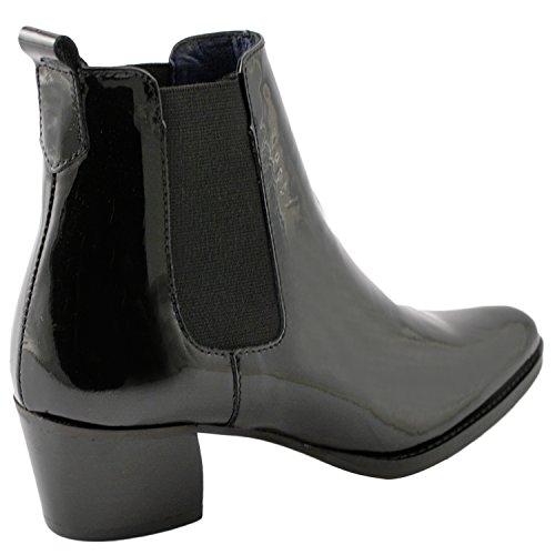 Exclusif Paris  Exclusif Paris Misty, Chaussures femme Bottines femme,  Damen Stiefel & Stiefeletten Schwarz - Schwarz