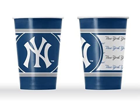 New York Yankees Disposable Paper Cups by