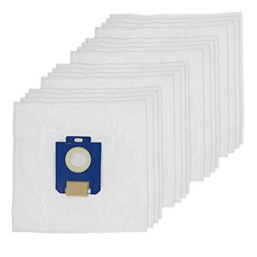 spares2go SMS Reinigungstuch Staub Staubbeutel für Electrolux Oxygen Staubsauger (16Stück) -