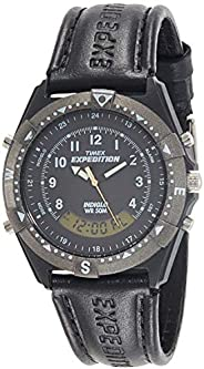 Timex Analog-Digital Black Dial Men's Watch-TW00M
