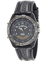 Timex Analog-Digital Black Dial Men's Watch-TW00MF103