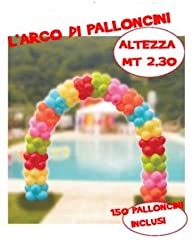 Idea Regalo - Partoys srl Kit Arco di Palloncini per Allestimenti, Colore Assortiti, 55613
