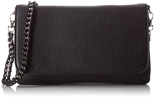 PIECES-Damen-Pcmercy-Large-Cross-Body-Schultertasche-Schwarz-Black-5x14x25-cm