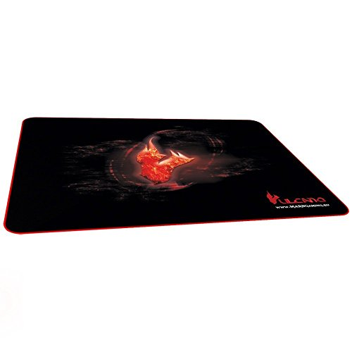 Mars Gaming MMPVU1 - Alfombrilla gaming para PC (base de caucho natural,...