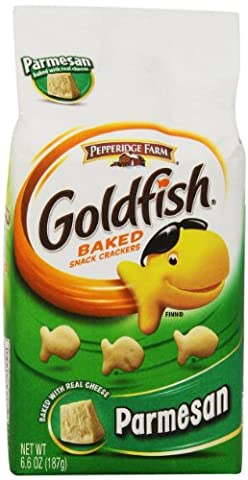 Pepperidge Farm Goldfish, Parmesan Cheese, 6.6-Ounce Package by Pepperidge