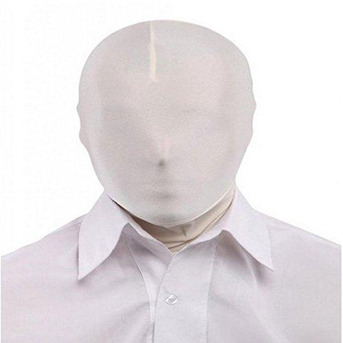 Preisvergleich Produktbild Halloween Party Spandex Zentai Maske - Weiß