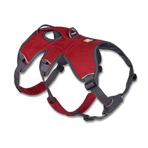 Ruffwear 30101-615M Web Master Harness Hundegeschirr, M, rot