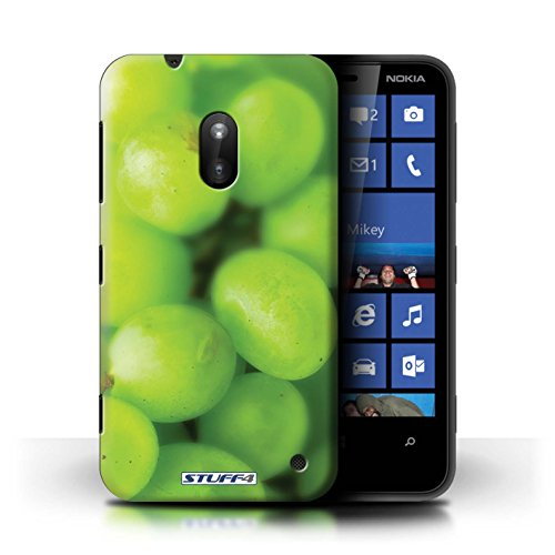 Kobalt® Imprimé Etui / Coque pour Nokia Lumia 620 / Fraise conception / Série Fruits Raisin