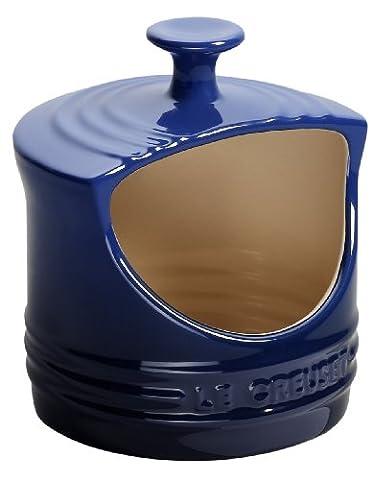 Le Creuset Steinzeug Salzgefäß 0,3 l, kobaltblau (Le Cruiset)