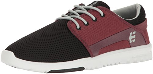 Etnies Scout, Sneakers Basses Homme Black/Red/Grey