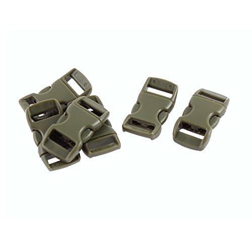 6 Stk Steckschnalle Klickverschluss Klippverschluss Steckschließer 11mm