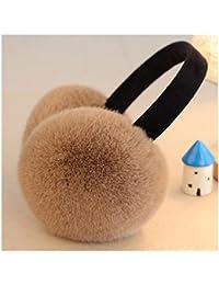 Paraorecchie CHENGYI Cuffie Unisex per Orecchio Cuffie pelose per Un  Orecchio Morbido Tenere al Caldo Invernale aee7f8766d67
