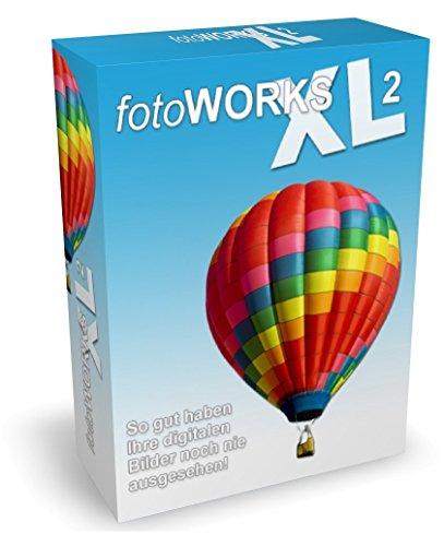 Fotoworks XL 2 (2018er Version) Bildbearbeitungsprogramm zur Bildbearbeitung in Deutsch - umfangreiche Funktionen beim Fotos bearbeiten und einfache Handhabung im Fotobearbeitungsprogramm