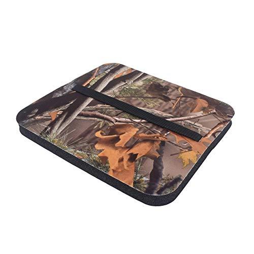Homeit Camo Foam Mat Sitzpolster mit verstellbarem Riemen Feuchtigkeitsbeständiges Sitzpolster Eva-Sitzkissen für Camping-Picknick im Freien -