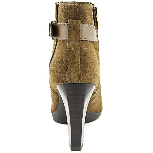 Franco Sarto Idrina Damen Spitz Wildleder Mode-Stiefeletten Khaki