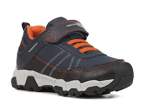 Geox Niños mínimo MAGNETAR Boy WPF, Chico Zapatillas,Zapato bajo,Calzado Deportivo,Zapato de Velcro,Cierre...