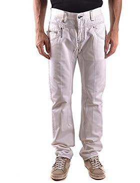 Daniele Alessandrini Hombre MCBI086594O Blanco Algodon Jeans