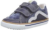 Geox B Kiwi B, Baby Boys' First Walking Shoes, Bleu (C4381), 7 Child UK (24 EU)