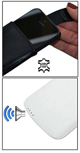 """Suncase étui pour iPhone 6 plus 5,5 """") (eX - 397 vollnarbig-schwarz"""