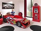 Vipack 'Autobett sctdrc Toddler Race Kinderbett MDF Rot 175x 78x 48cm