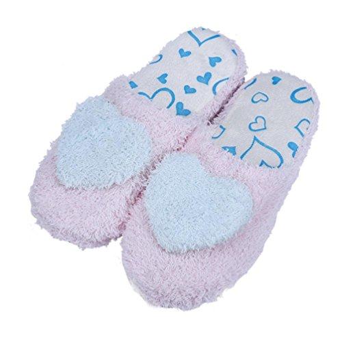 Chinelos Chão Amantes Webla Casa Macio De Algodão Acolchoado Sapatos Do Céu Azul
