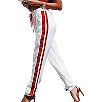 Pantalon de survêtement Femme Automne Hiver Pantalons Longues Décontractés Pantalon de Sport Cordon élastique Pantalon de survêtement Pantalon de loisir Pantalon Sarouel Jogger Pantalon de Danse