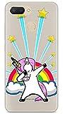 Tumundosmartphone Funda Gel Transparente para XIAOMI REDMI 6 diseño Unicornio Dibujos