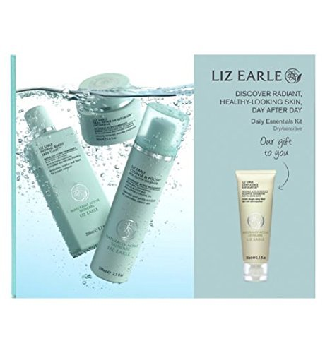 liz-earle-daily-essentials-kit-for-dry-sensitive-skin-with-bonus-gentle-face-exfoliator-50ml-by-liz-