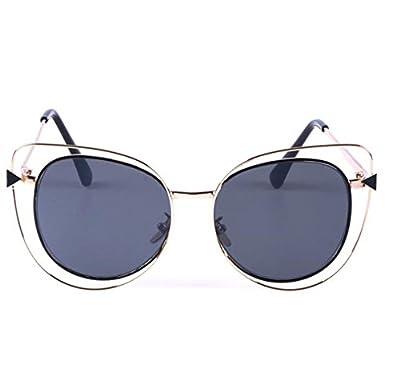 MYLL 2017 Neue Dame-Sonnenbrille-Art- Und Persönlichkeit Bunte Katze Augen-Glas-Europa Und Den Vereinigten Staaten Von Amerika Der Trend Sonnenbrille